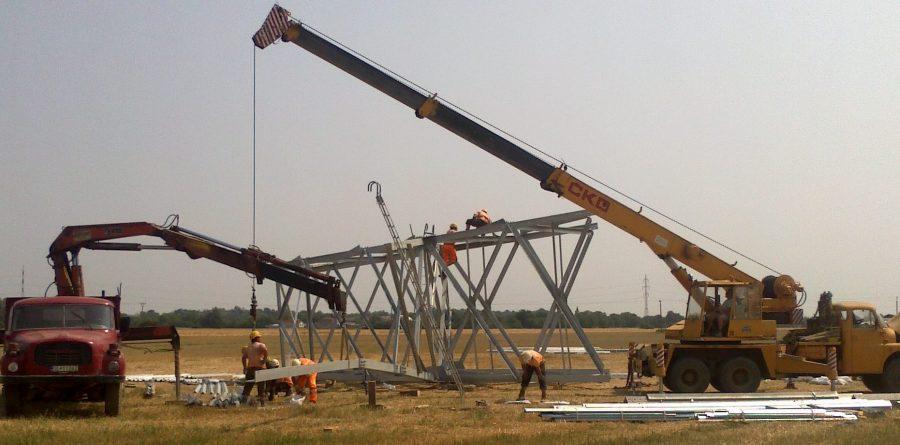 Montáž stožiaru Osvald pre GA Energo